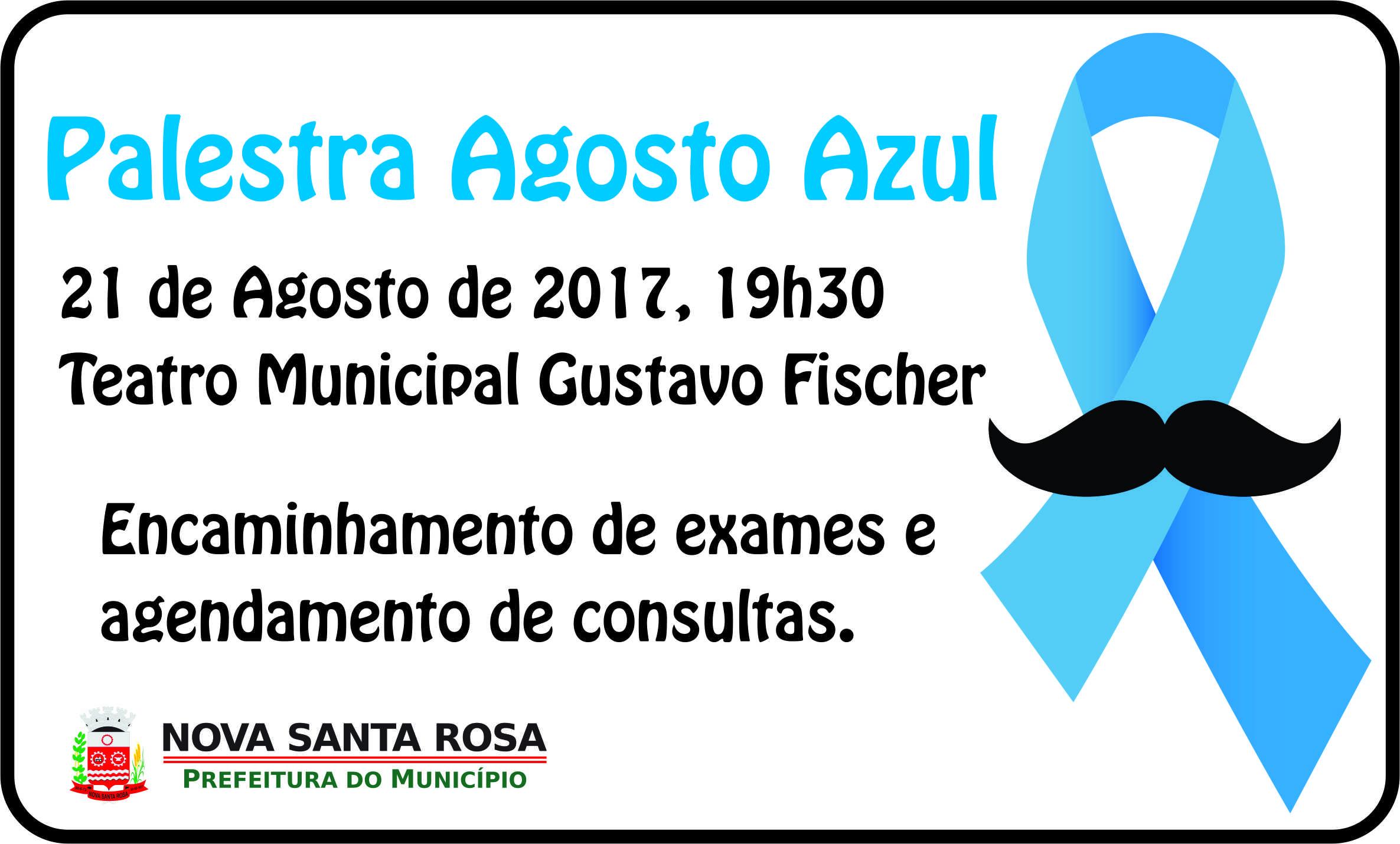 22a70a866 A Prefeitura de Nova Santa Rosa, por meio da Secretaria de Saúde, convida  todos os homens para a palestra alusiva a Saúde do Homem, que será  realizada nesta ...