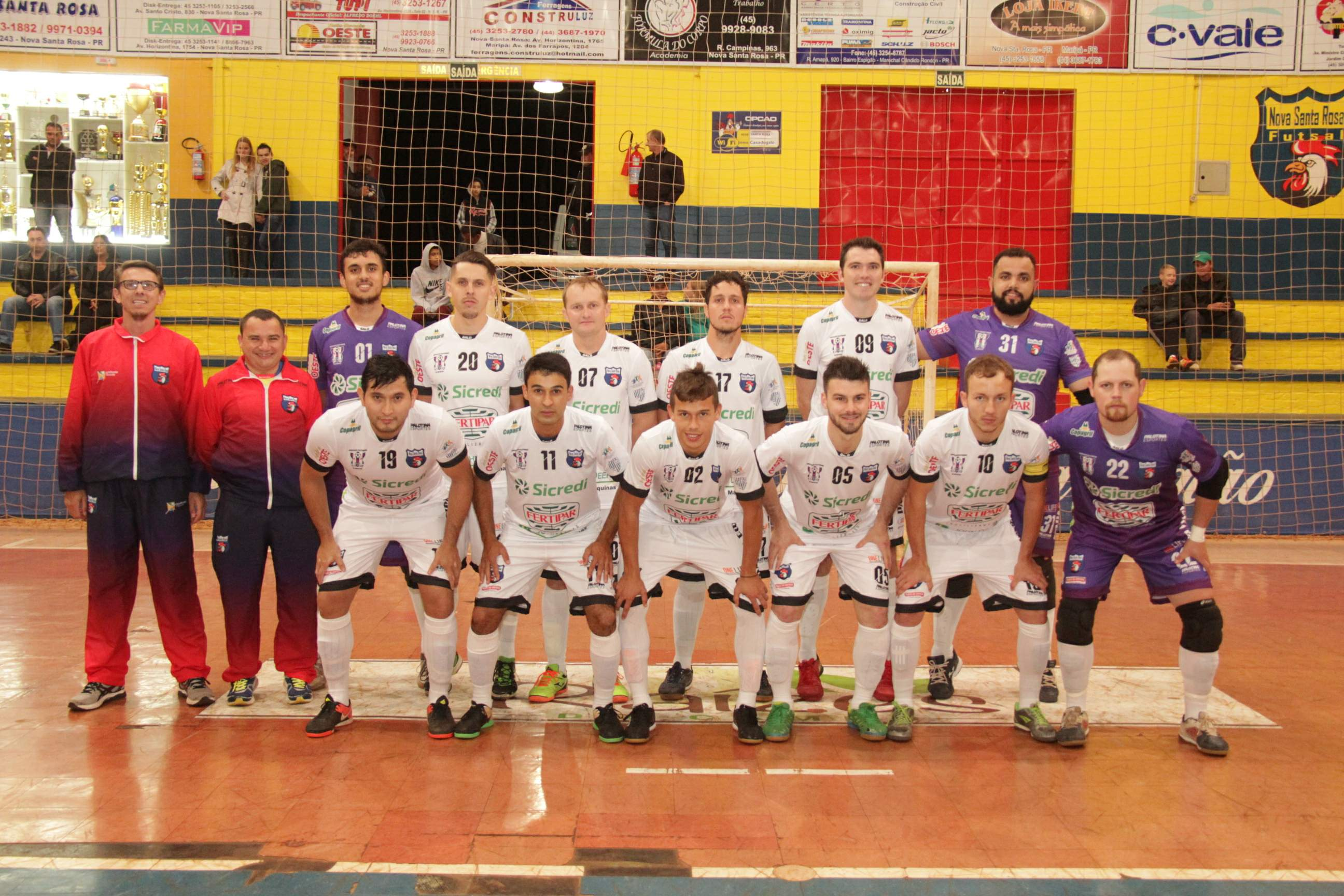 9140f2b827 Nova Santa Rosa estreia na segunda fase do Paranaense de Futsal no ...
